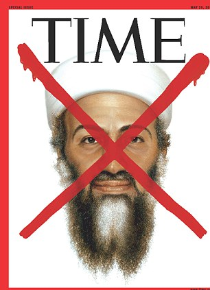 The cover of a special edition of TIME magazine devoted to the death of Osama bin Laden