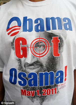 It didn't take long for T-shirts to appear on the streets of New York celebrating the death of the Al Qaeda leader