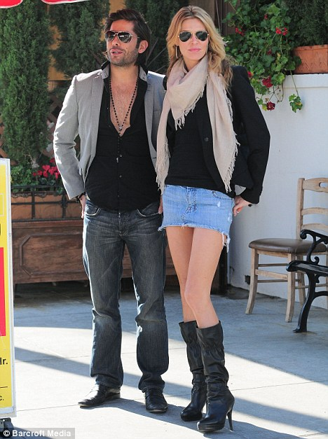 Insider information: Glanville had lunch with Lisa Vanderpump's former house guest and star of season one of the RHOBH Cedric Martinez earlier this year