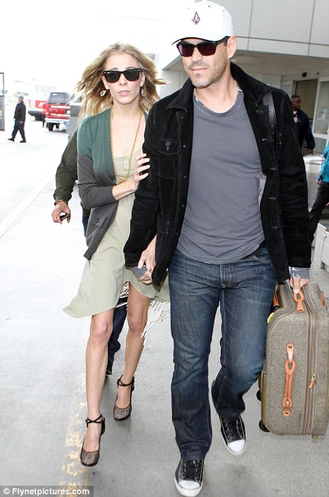 Family disputes: Glanville's plot lines would centre around her issues with her ex-husband Eddie Cibrian and his new wife LeAnn Rimes - the relationship which ended her marriage