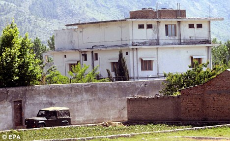 Secret hideaway: The compound where Osama Bin Laden was hiding in Abbottabad, Pakistan