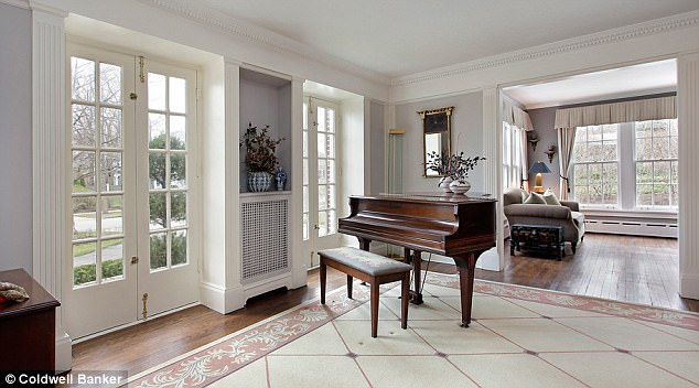 Grand: The opulence is reflected throughout the property, there's even a piano room