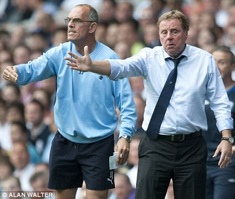 Out of his hands: Redknapp is waiting on the return of his key duo