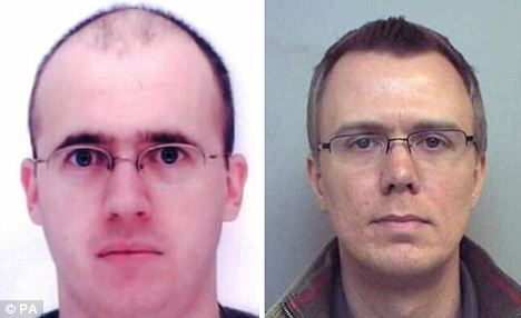 Paul Frost (left), 37, and Ian Sambridge, 32, were also involved in the paedophile ring and pleaded guilty to various charges of making, distributing and possessing indecent images of children