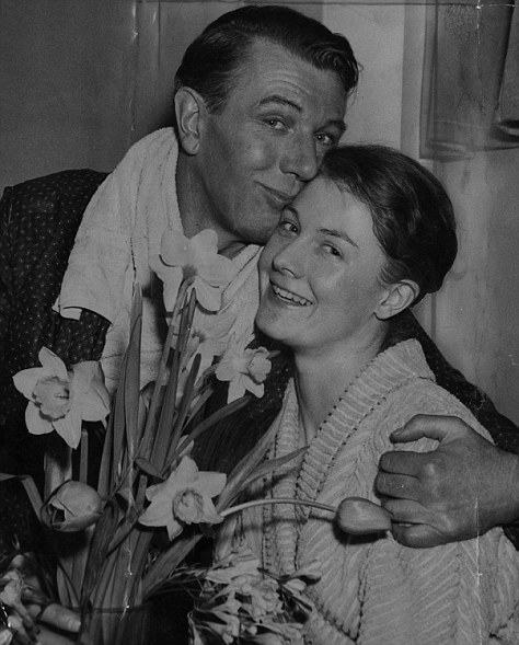 Sir Michael could be cruel, saying that Vanessa - pictured with her father after her West End debut - would never be an actress