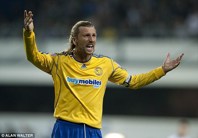 That's pants! Robbie Savage played his final game for Derby before retiring
