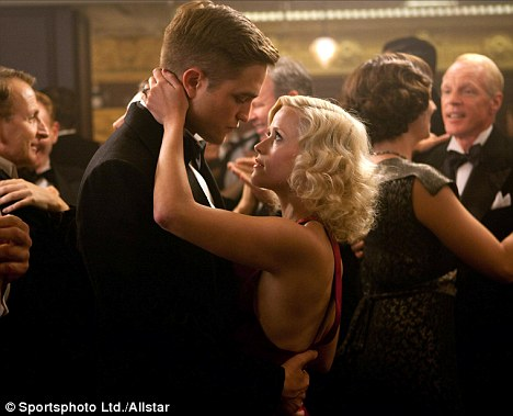 Circus star: As trapeze artist Marlena in Water for Elephants with Robert Pattinson
