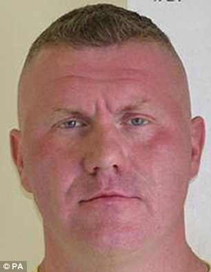 Dave Cawston is alleged to have said he would 'make Raoul Moat (pictured) look like a f****** fairy'