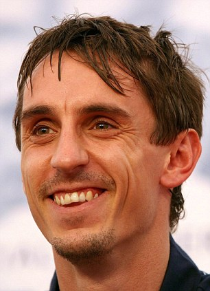Joy: Gary Neville has been granted planning permission for his eco-friendly home