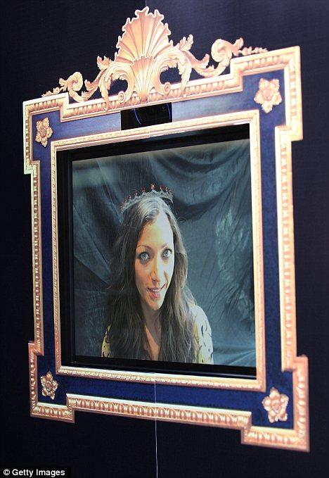 Princess for a day: Garrard unveils world's first virtual tiara