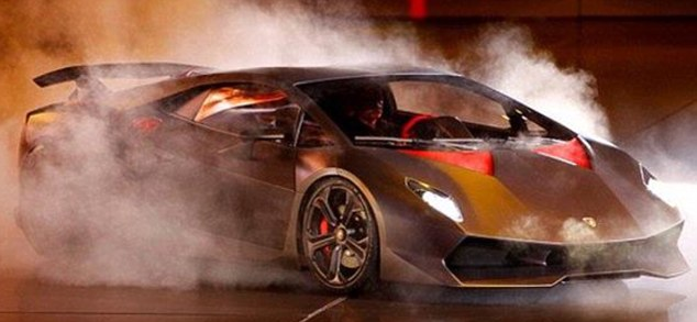 Unveiled: The Lamborghini Sesto   Elemento was shown at the Paris motor show last October and now Lamborghini's bosses have given limited production the go-ahead
