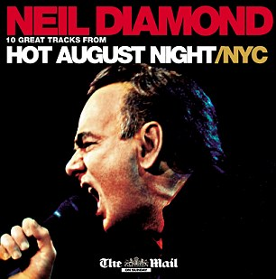 A CD of ten classic tracks from Neil will be free inside next week's The Mail on Sunday