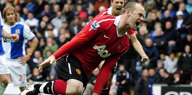 Turning point: Sir Alex Ferguson convinced Wayne Rooney to stay earlier in the season