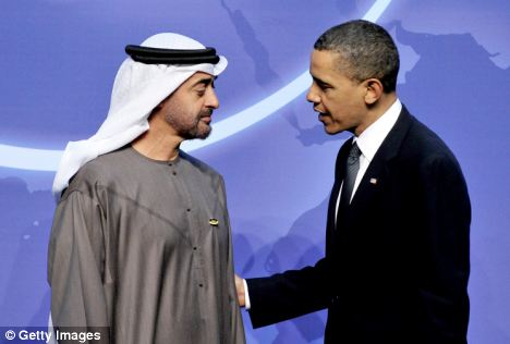 Drill baby drill: Obama met Sheikh Mohamed bin Zayed Al Nahyan, Crown Prince of Abu Dhabi last week. The meeting came ahead of an announcement on Saturday where he outlined a series of 'oil friendly' measures