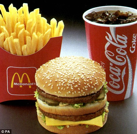 Big day: Mr Gorske has eaten one, sometimes two, Big Mac burgers every day since May 17, 1972 at 3pm