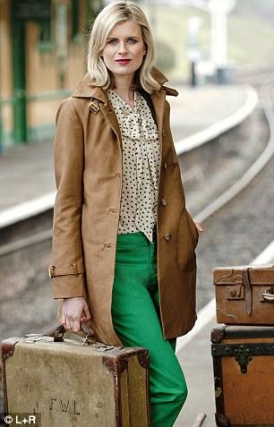 Blouse £45, Linea at houseoffraser.com Trousers £35.99, coat £79.99, zara.com