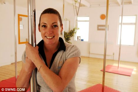 Ready for criticism: Sam Remmer believes people should fully understand pole dancing before jumping to conclusions