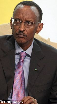 Rwandan President Paul Kagame has come under fire for his regime's human rights record