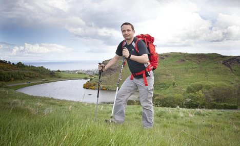 Peak practice: Keen climber Greg Jenkins, who received £127,000 from two protection policies after he had a brain tumour removed, is setting his sights on scaling all of Scotland's 283 Munros