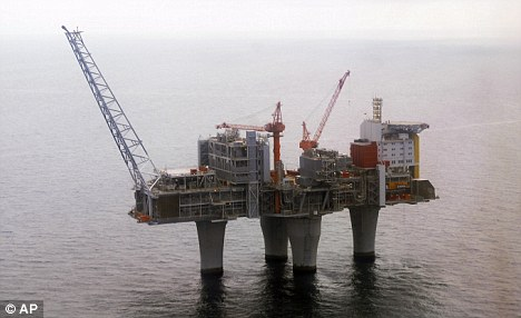 Statoil: A gas platform run by the Norwegian oil giant which has offered Sir John a position
