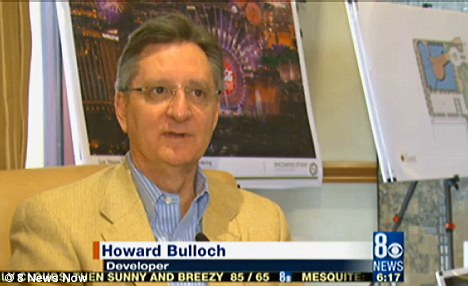 Brains: Howard Bulloch, one of the Skyvue developers, said that the world-class attraction will fill a niche in the economic recovery