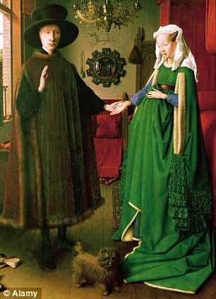 Jan Van Eyck's portrait records the marriage of an Italian merchant and his wife in a private, touching and very personal way