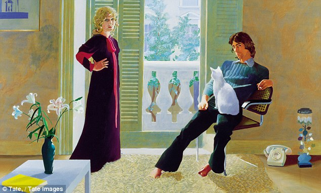 Mr & Mrs Clark & Percy is understandably the most popular work in Tate Britain. This picture still has all the elegance and casualness of a new age