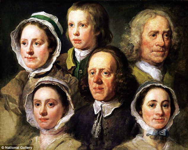William Hogarth's Heads Of Six Of Hogarth's Servants stands unique in the history of portraiture because it shows servants outside their normal routine of duties