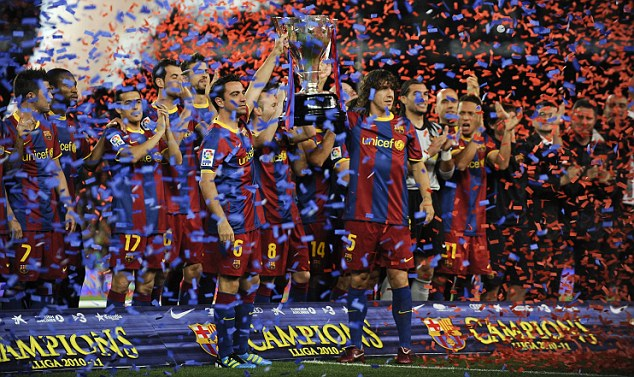 La Liga winners Barcelona are widely tipped to add the Champions League crown to their trophy cabinet