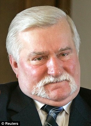 Mr Walesa had been invited by Polish President Bronislaw Komorowski to attend a gathering of Poland's leading political figures with the U.S. President in Warsaw on Saturday