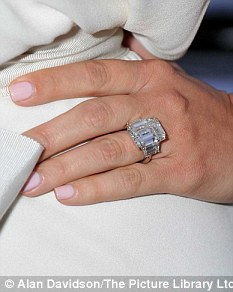 Meaningful: The ring is understood to have two Bible passage inscriptions