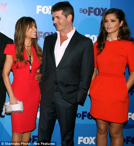Regret? Simon Cowell is said to be feeling 'guilty' that Cheryl has left the U.S. version of the show