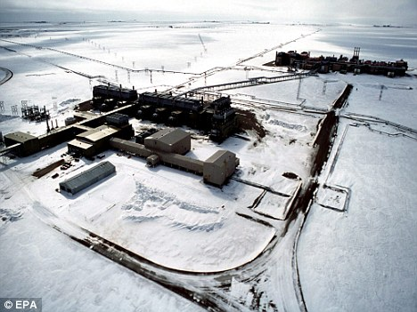 Declining: Oil discovery will help ease pressure off Prudhoe Bay, Alaska, where production is down
