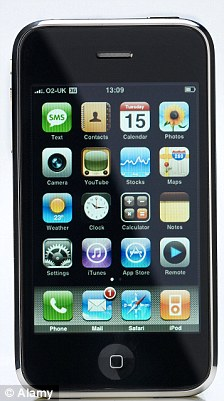 Last month, Apple - makers of the iPhone (pictured) - filed a lawsuit claiming Samsung had copied their 'technology, user interface and innovative style'