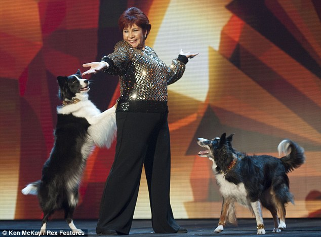 Paws for thought: Dog fan Simon loved Donelda Guy and her dancing dogs Biba and Mega