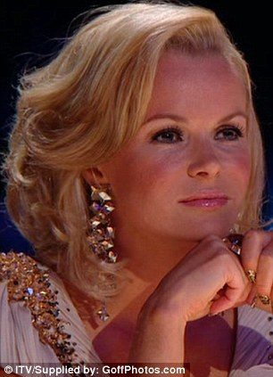 Moved: Both Amanda Holden and Simon Cowell raved about young Ronan's assured performance
