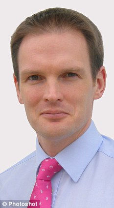 Unacceptable: MP Daniel Poulter said the government is working to curb excessive spending on management within the NHS