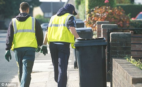 What a waste: Councils are under pressure to meet tough EU recycling targets - which means fewer collection days
