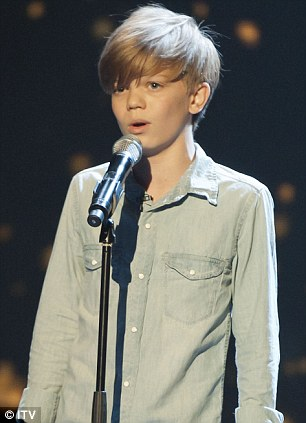 Spot the difference: Has BGT discovered the British Justin Bieber in Ronan?