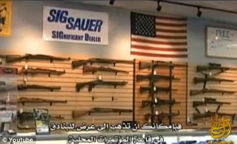 Stocks: Gadahn urged Muslims to take advantage of lax security checks at gun shows to purchase weapons