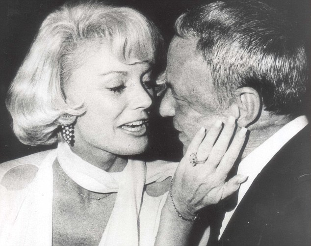 On the verge: Frank Sinatra with Barbara Marx, as she was then, around a month before the wedding