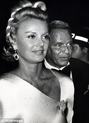Lady Blue Eyes: Barbara Sinatra with her brilliant but volatile husband Frank in pictured in 1977, a year after marrying