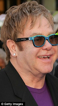 Fuller: How Elton John looks today with far more hair on top