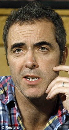 Hairy hobbit: Northern Irish actor James Nesbitt at a press conference for of Peter Jackson's two-part film The Hobbit in February