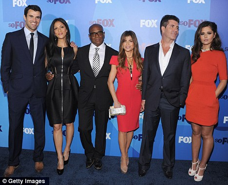 Thanks but no thanks: Cheryl turned down Fox's offer to return to the U.S. version today