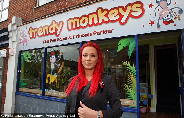 While critics have been warning that pampering youngsters in adult ways can take away their childhood, Trendy Monkeys owner Michelle Devine defended her business