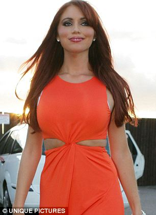 Amy Childs of the The Only Way Is Essex arrives at Smith's Brasserie in Ongar, Essex, to celebrate her 21st birthday