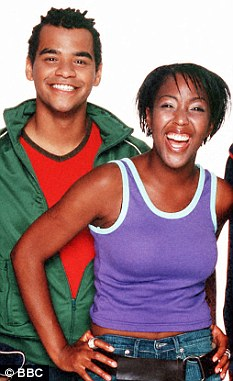 Old friends: The couple first met in 2000 when they presented CBBC