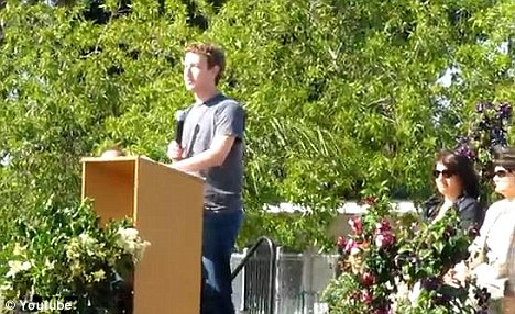 'There's no shortcuts to success': Mark Zuckerberg addressed students, faculty and parents at Belle Haven Community School on Wednesday