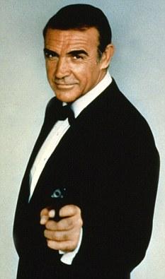 Scotland's most famous Englishman: Sean Connery as James Bond 007